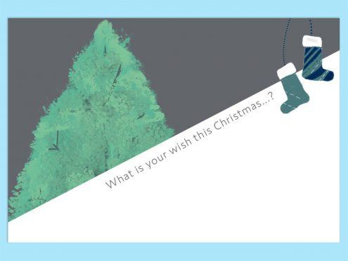 無料で使えるテンプレート クリスマスカード