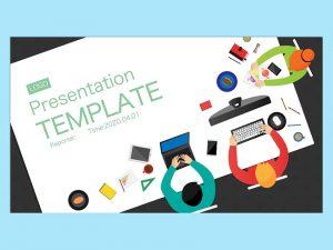 【提案書】PresentationTEMPLATE