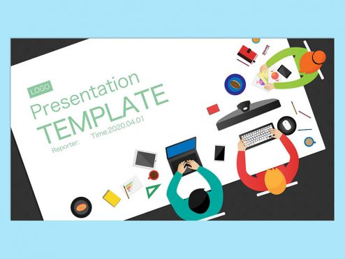 【提案書】PresentationTEMPLATE