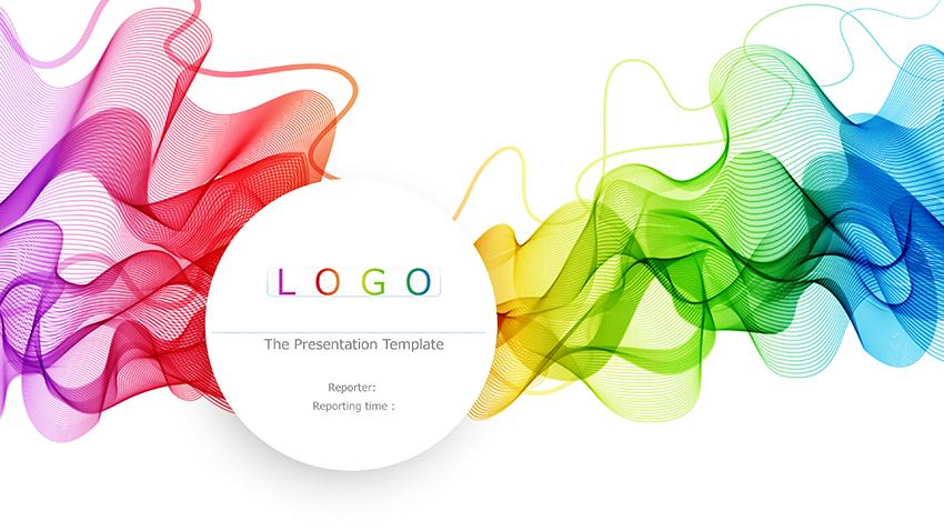 [提案書]Colorful personal silk waft business general presentation