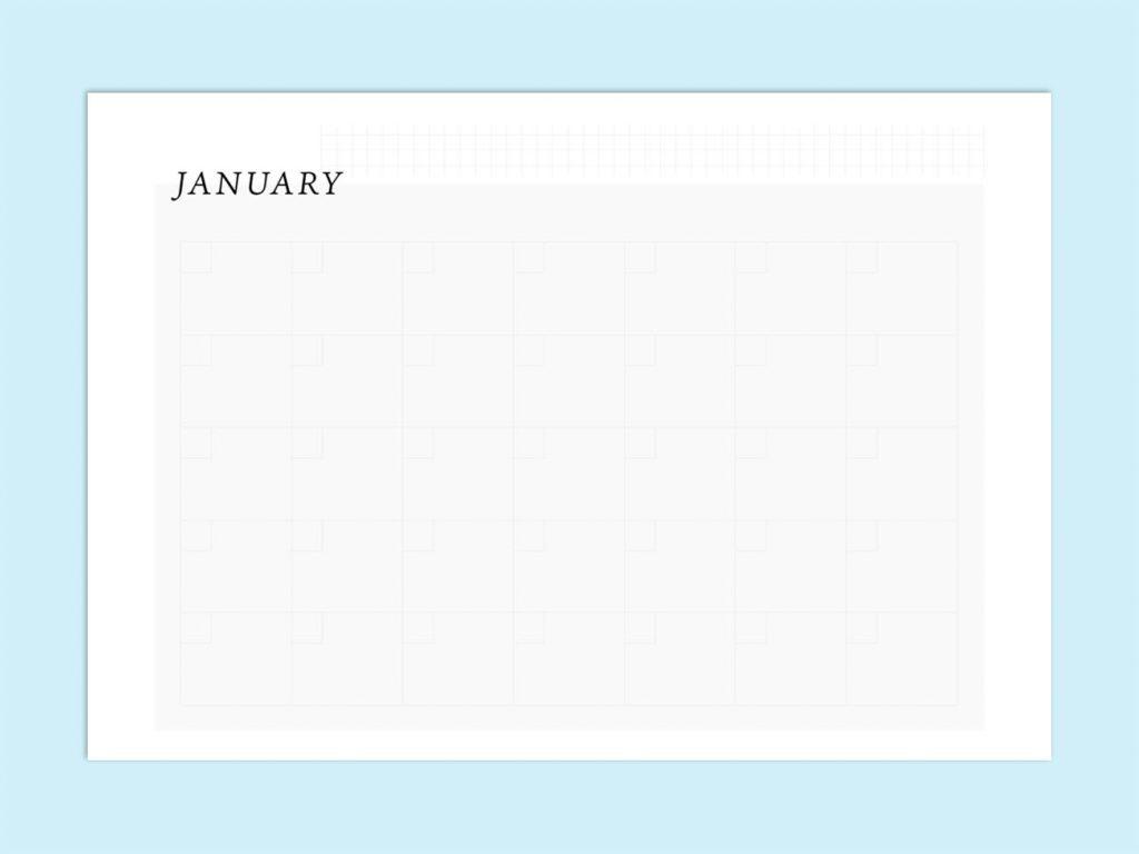【WPS Presentation】無料で使えるテンプレート カレンダー