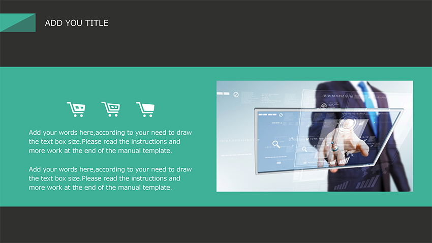 【WPS Presentation】[レポート]Simple Flat E-commerce Business Promotion Manual.p