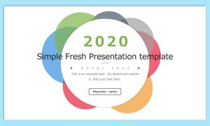 [提案書]Simple Fresh Presentation template