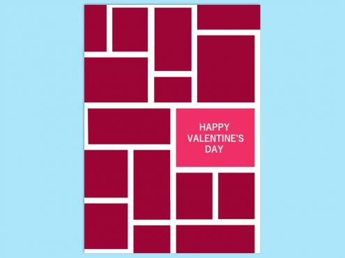 【WPS Presentation】無料で使えるバレンタインカード